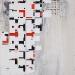 Cubes for Joachim Kühn, 2016 acrylic on canvas, 160 x 130 cm