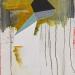Unfolding toward Christian Wolff, 2015, acrylic and medium on canvas, 80x60cm