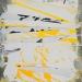 'Composition Percutante / pour Fritz Hauser' 100x70cm, 2010-11, acryl, medium, canvas