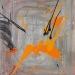 'Kinda concentric' 100x80cm 2010, acryl, medium, canvas