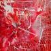 'Electroshocking (Thanks to John Zorn & Fred Frith)' 120x100cm, 2009, acryl, medium, canvas