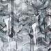 'Metrum voor Peter' 100x80cm, 2009, acryl, medium, canvas