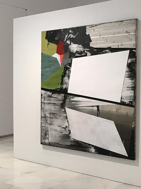 Reconstructing the surroundings, 200x150cm, Painting after Postmodernism, 2017, Palacio Episcolpal Málaga (ES)