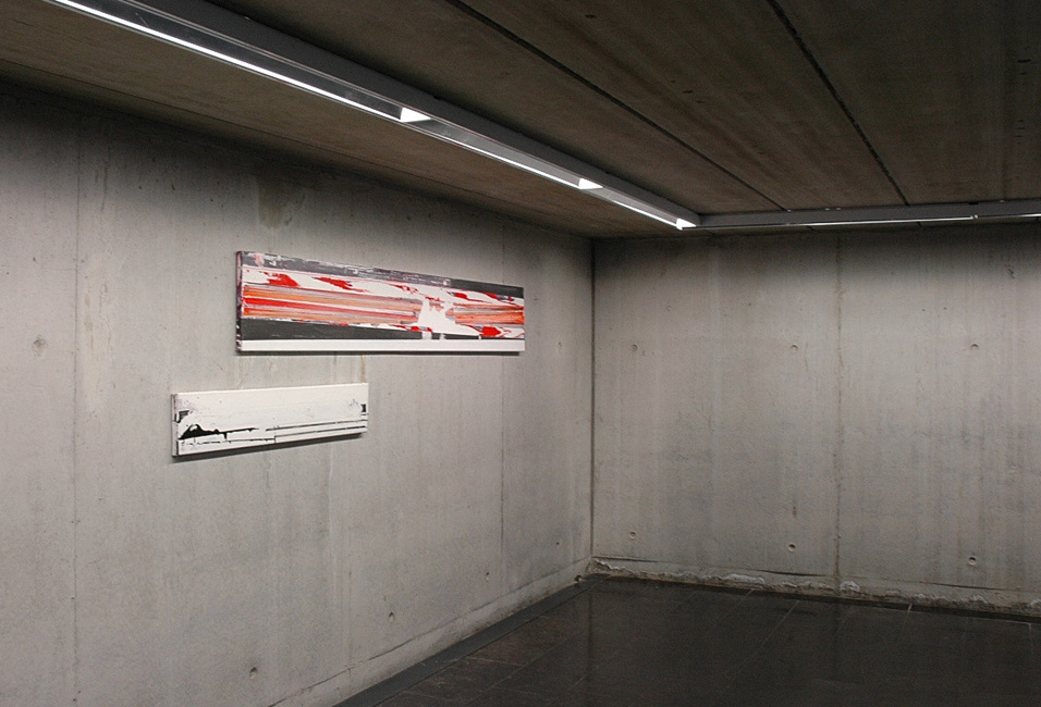 'Transdistance' view exhibition Be-part, Waregem, 2006