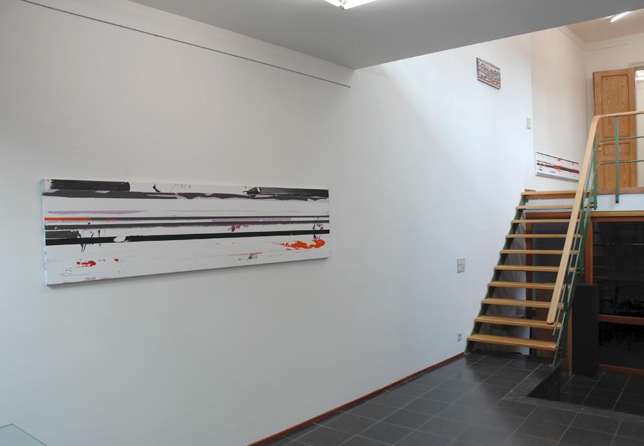 'Trans/Pole' view exhibition Galerie De Witte Beer, Brugge, 2006