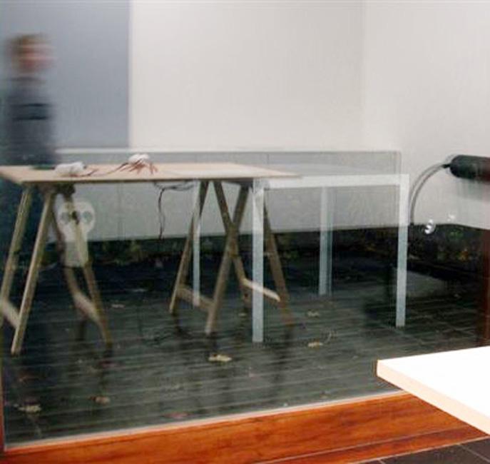 'Cabinet Discret' project Bart Vandevijvere & Laurent Rigaut (F), 2006