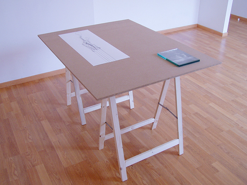 ' Linelab', Second Room, Brussel, 2007