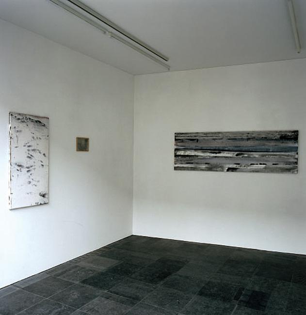 'Hommage aan Morton Feldman' installation view Galerie C. Devos, Aalst, 2003