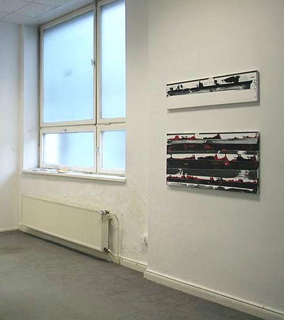 'Time Tape Painting' L.O.F.T., Berlin, 2005