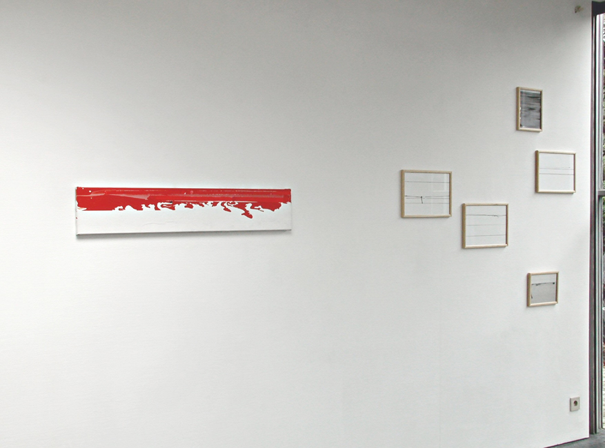 'Time Tape Painting' Galerie C. Devos, Aalst, 2005