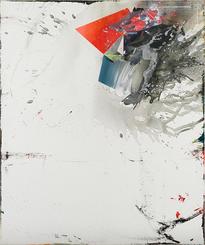 Blown away, 2019, acrylic on canvas, 120x100cm