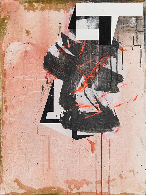 2. When Alex met Aki, 2020, acrylic on canvas, 80x60cm